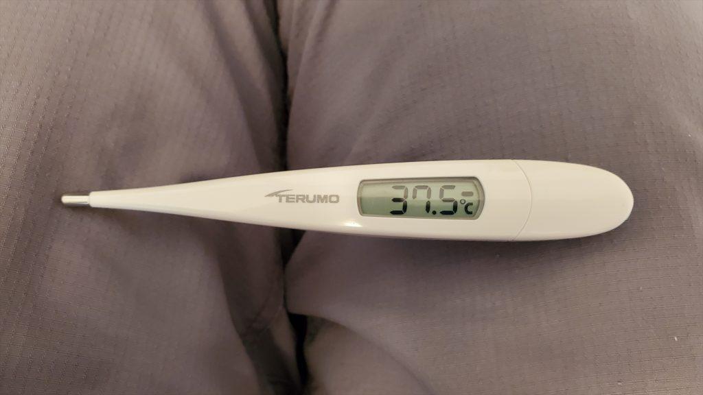 風邪の症状が出た